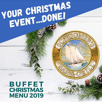 Buffet Christmas Menu 2019