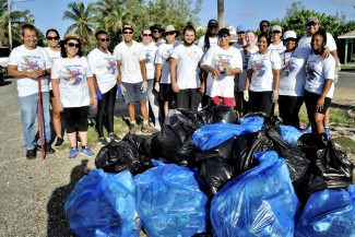 Cayman Turtle Conservation and Education Centre celebrates International Coastal Clean Up Day