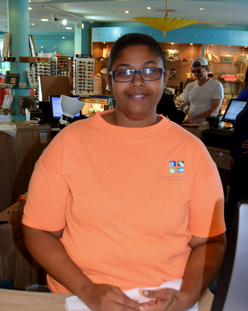 CTC welcomes new crew- member Sherika Maxwell