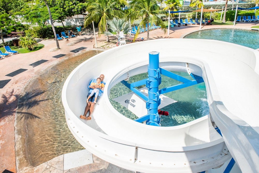 Breakers Lagoon Turtle Twister Waterslide