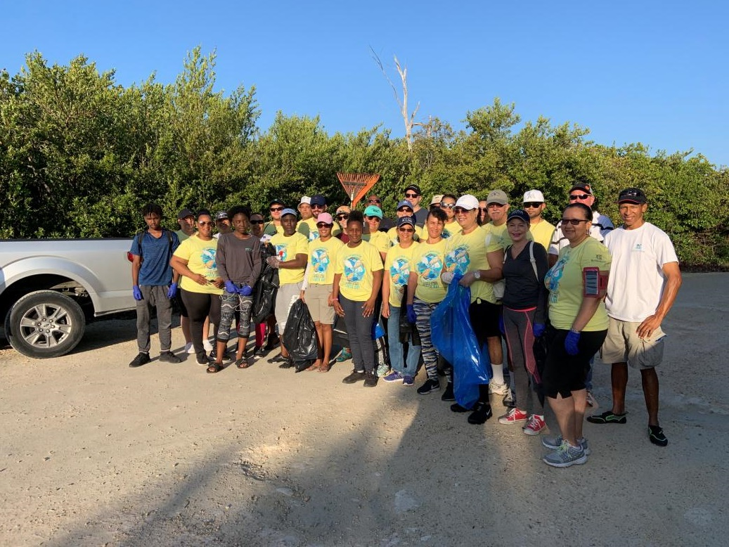 Cayman Turtle Centre - Earth Day Clean Up April 2019
